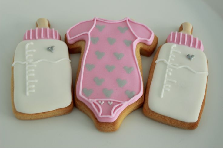 Baby shower cookies www.vintagecakecompany.pt