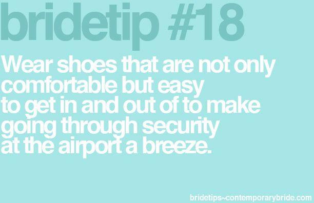 Bride Tip #18 - honeymoon travel