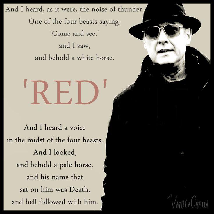 Aram Movie Quotes Images: Raymond 'Red' Reddington By VerucaCrews