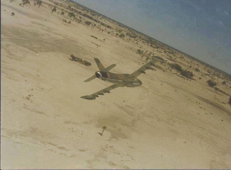 ☆ South African Air Force ✈ Impala MKII Owamboland