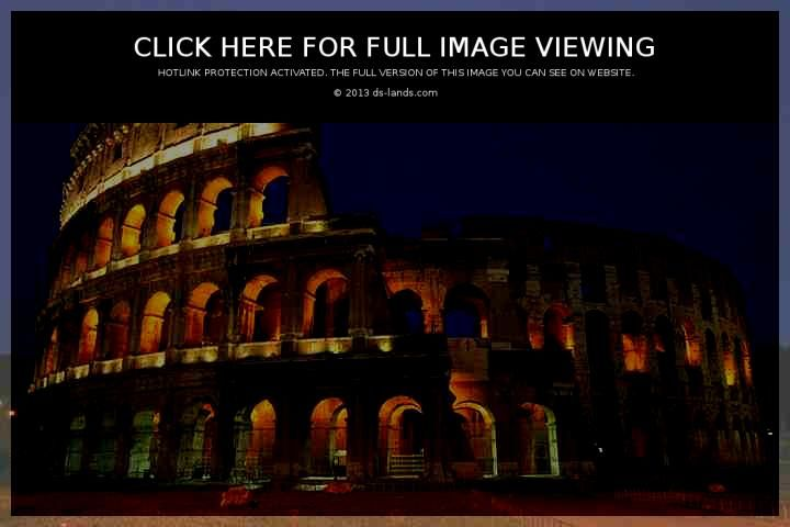 The Coliseum in Rome