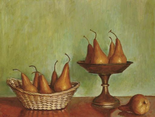 Still Life with Pears, Margret Olley