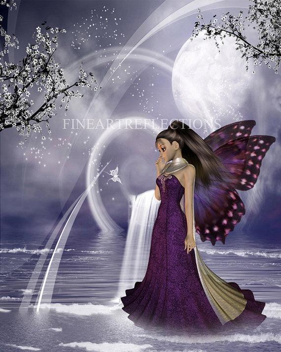Butterfly Princess...I love fantasy art