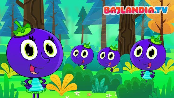Jesteśmy jagódki - Piosenki dla dzieci bajlandia.tv