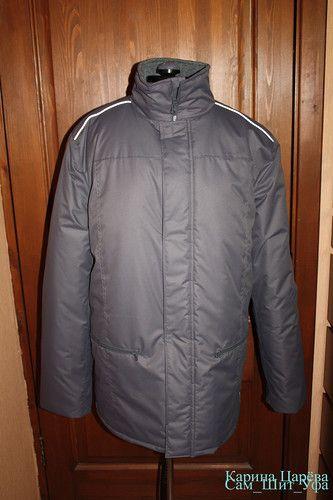 Шьем мужскую куртку на мембране с утеплителем: описание