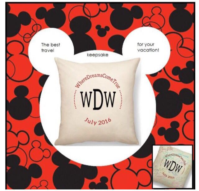 A personalized Keepsake pillow with autographs from your Disney Characters. www.mythirtyone.com/kpeck Follow me on Facebook: https://www.facebook.com/KathysThirtyOne/