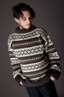 В Лондоне мода на винтажные свитера