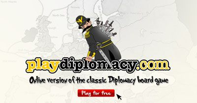 Play Diplomacy Online ::: web version of the classic Diplomacy board game