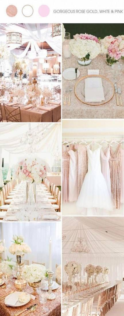 34+ Trendy Wedding Colors October Rose Gold