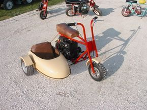MINIBIKES WITH SIDE CAR