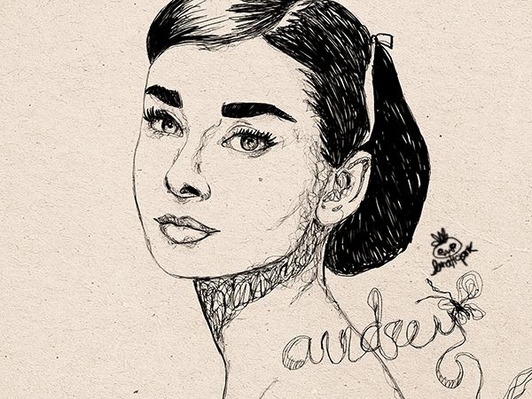 portrait of audrey