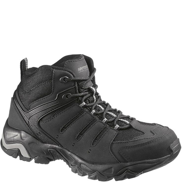 12150 Hytest Unisex Multi-Sport Safety Boots - Black