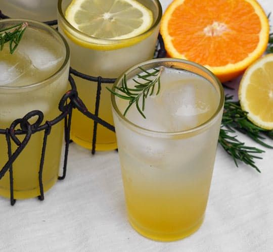 Drink Recipe: Rosemary Citrus Spritzer | The Kitchn