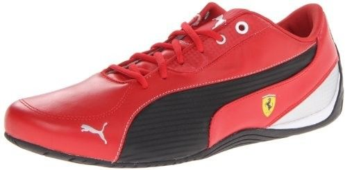 Puma Men's Drift Cat 5 Ferrari NM Motorsport Shoe,Rosso Corsa/Black,11.5 M US