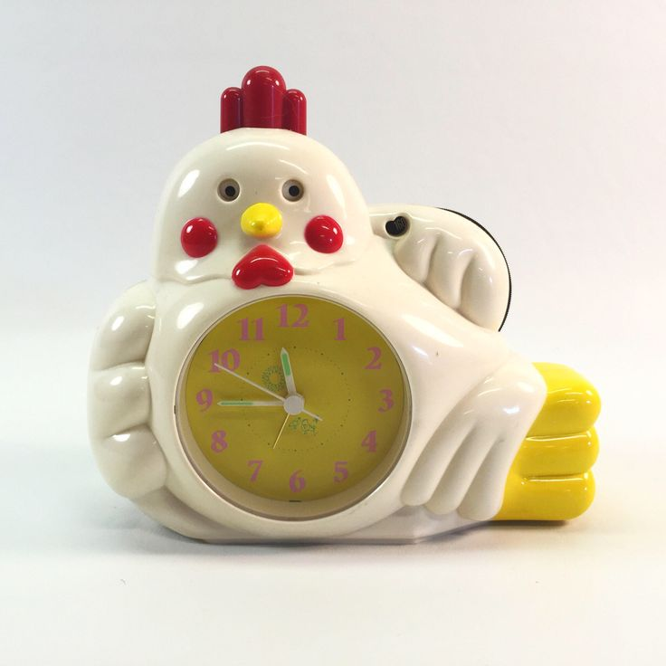 A personal favorite from my Etsy shop https://www.etsy.com/ca/listing/523732136/chicken-radio-alarm-clock-by-hopesonic