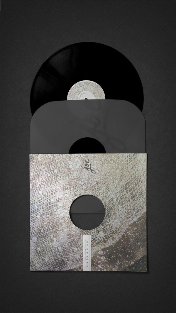 Joe Barbieri Rebranding - Vinyl Cover