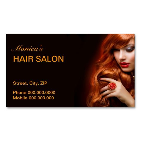45 best images about hair salon business cards on for Ada beauty salon