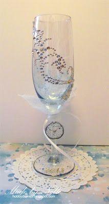 Hobbydraken blogg: Altrat Champagneglas