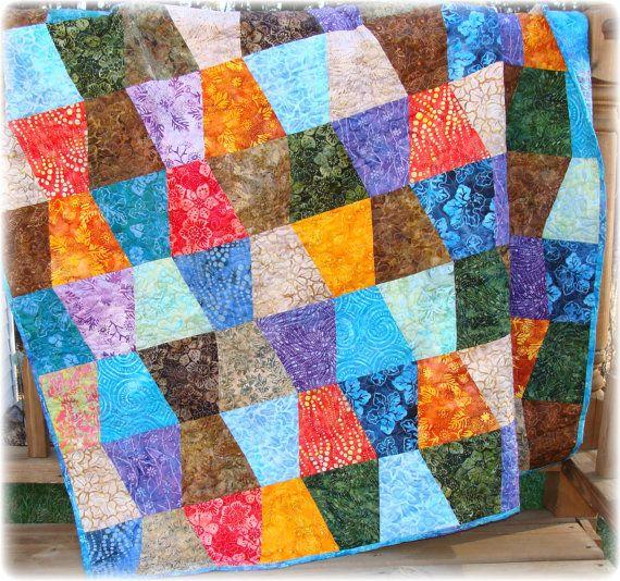 17 Best Images About Quilts Tumbler Block On Pinterest