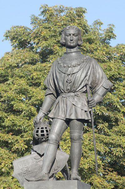 Roi René. David d'Angers.
