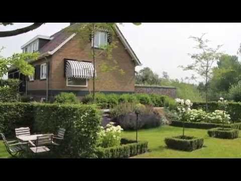▶ Tuin met zwemvijver en veranda - YouTube