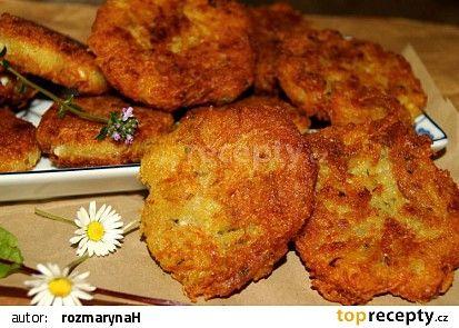 Bramborové karbanátky s balkánským sýrem