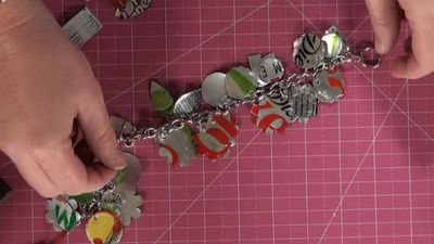 """Soda Can Jewelry: You will be amazed at how simple and fun it can be to create necklaces, bracelets, earrings and key chains with soda pop cans. JoinLori Allredand her daughter Emma as they share fun ideas on""""Inspired by Pinterest."""""""