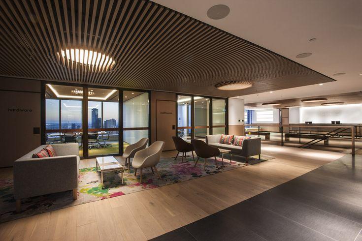 CBRE Office, Melbourne ... French Oak Floor