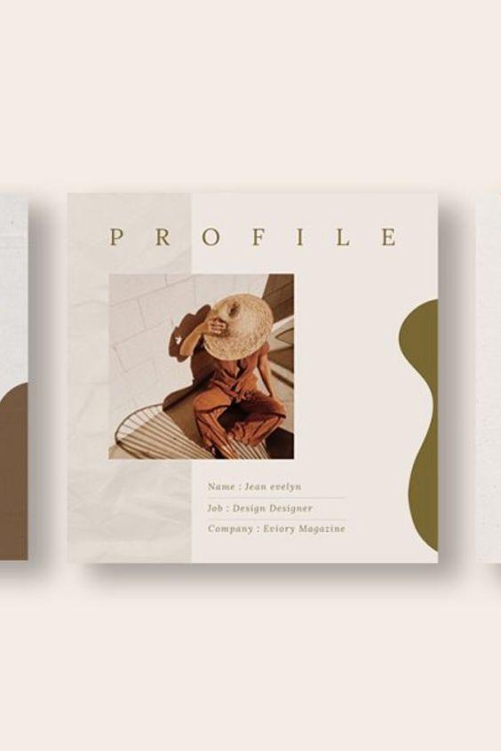 PS & Canva Luna Social Media Pack (With images) Social