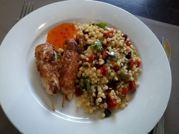 beef kebabs with pearl couscous chicken with israeli couscous israeli ...