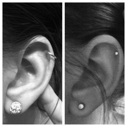 I want to get my ears pierced again but I can't decide between a second lobe piercing or a helix/rim/cartilage