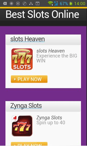 Here is the place to be if you are looking to play Slots online. We have the best slots online games to be found on google store. Our slots online games apps are the finest, highest quality to be found. We know what you are looking for and so we go through all the many apps to find the best ones. Come and play the best Slots online, we are sure you will love our apps. Do you know the Slot machines are also called fruit machines and poker machines.  Slot machines happen to be one of the mo...