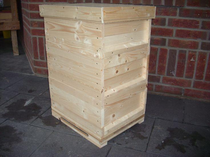 Bienenkasten Bienenbeute bauen ist nicht schwer, man muss aber einiges beachten. Hier eine Anleitung mit Bauplan.