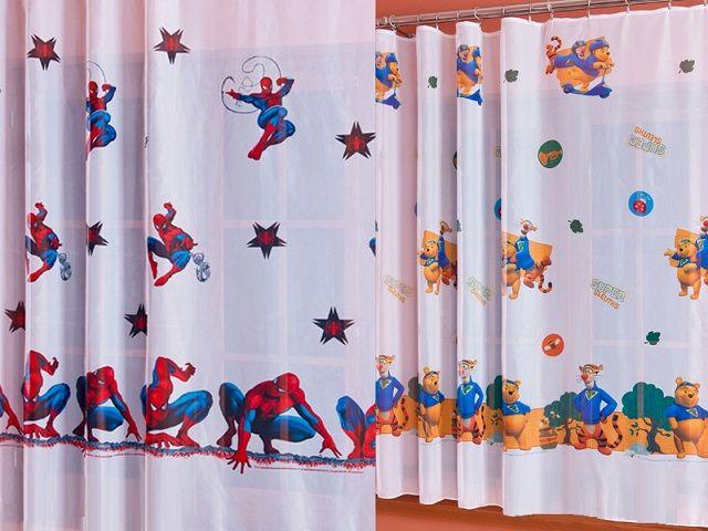 Firanka wykonana została z klasycznej tkaniny woalowej. Nadruk przedstawiający postaci z najpopularniejszych kreskówek Disney-a z pewnością przypadnie do gustu nie tylko dzieciom, ale także dorosłym. Bajkowe firanki to dekoracja okienna, która idealnie pasować będzie do pokoju dziecięcego.