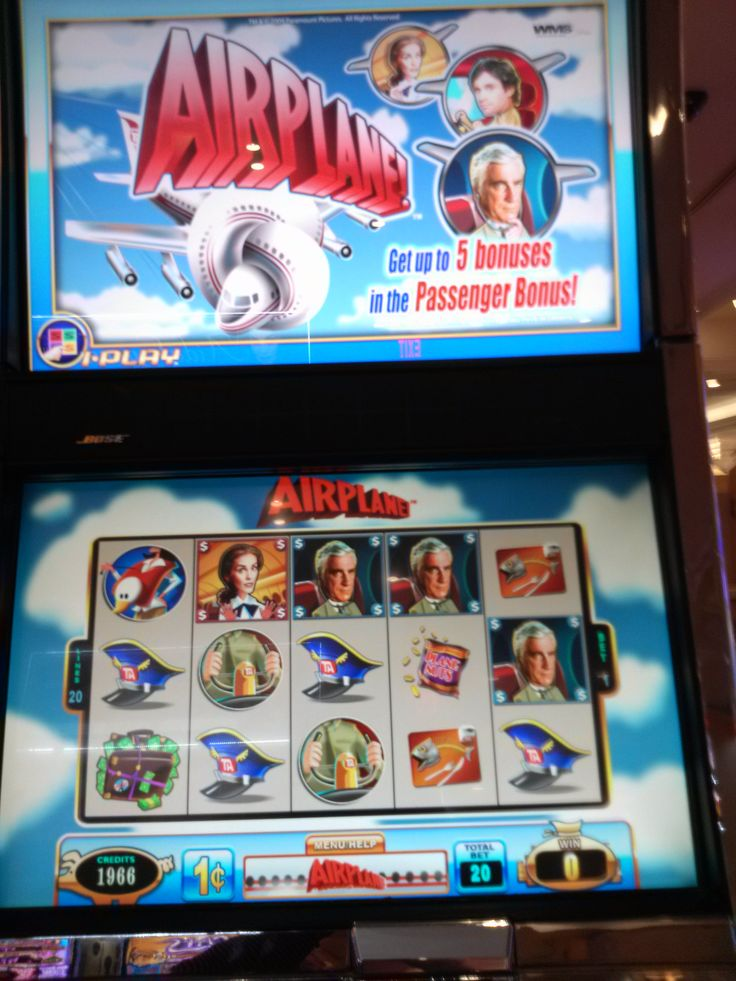 Airplane slot machine Las Vegas