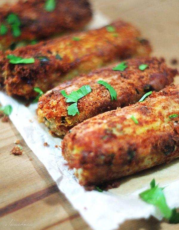 Krokiety ziemniaczane | o!kuchnia Blog kulinarny ze smacznymi przepisami na dania sezonowe z lokalnych produktów.