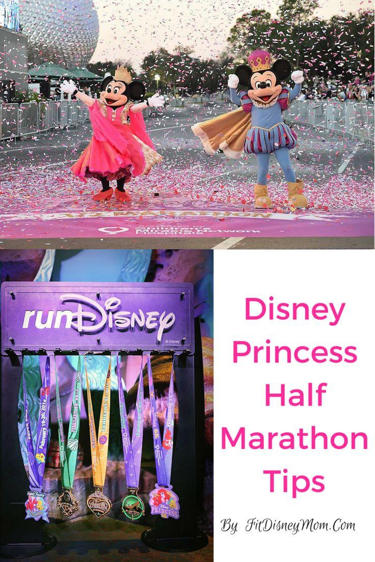 BEST tips for running the Princess Half Marathon at Walt Disney World