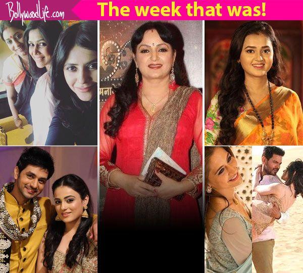 Upasna Singh, Keith Sequeira-Sanjeeda Sheikh, Ekta Kapoor -Smriti Irani – meet TV's newsmakers this week! #FansnStars