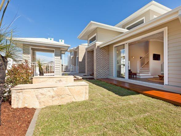 modern weatherboard homes - Google Search