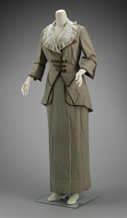Suit by Brooks, ca 1910 United States (Philadelphia), MFA Boston