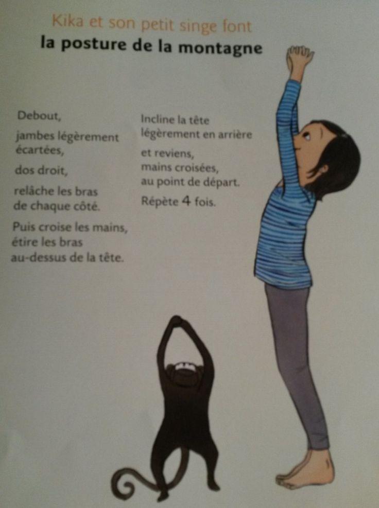 3 postures de yoga faciles pour les enfants                                                                                                                                                     Plus