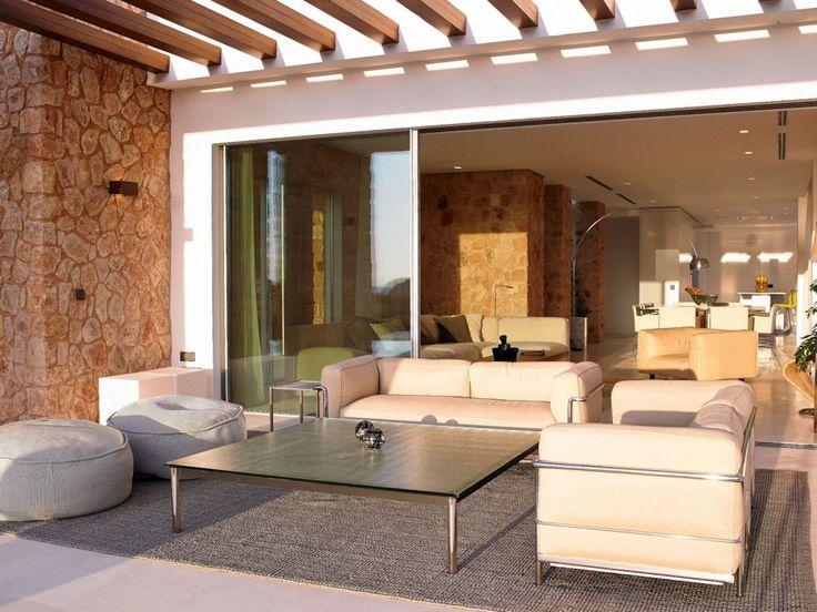 Hotel villa calaconta cozy h shapes villa in ibiza spain by