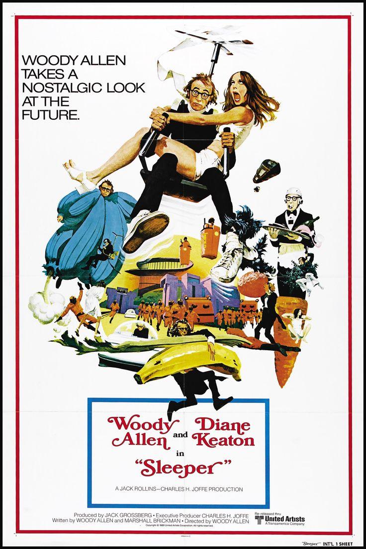 """Sleeper"" movie poster, 1973"