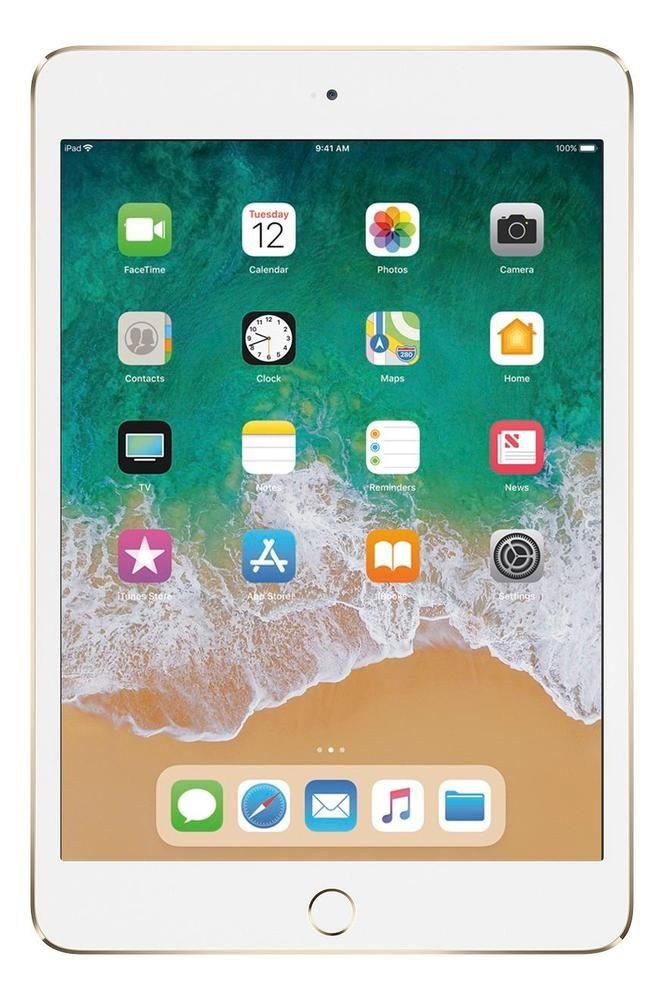 Apple Ipad Mini 4 Wi Fi 128gb Gold Mk9q2ll A New Apple Ipad Apple Ipad Mini Apple Ipad