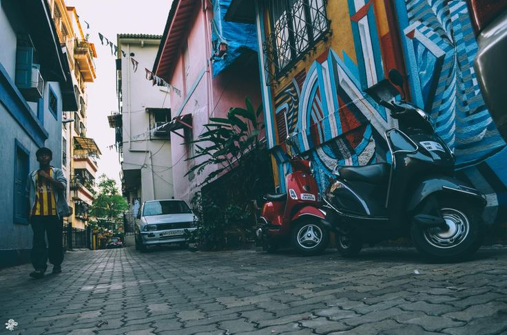 """""""People say graffiti is ugly, irresponsible and childish... but that's only if it's done properly."""" Location: Pali Hill, Bandra"""