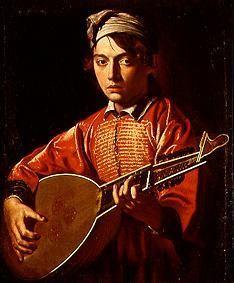 Michelangelo Caravaggio - Lute player.  Art Experience NYC  www.artexperiencenyc.com/social_login/?utm_source=pinterest_medium=pins_content=pinterest_pins_campaign=pinterest_initial