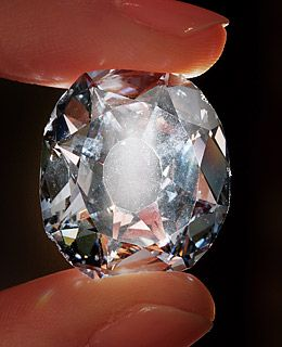 Sold in 2008 at a winning bid of $23.4 million The Wittelsbach is a 35.56-carat blue diamond