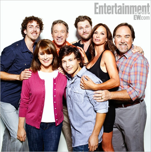 Home Improvement cast, 15 years later.