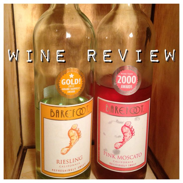 Check out our Barefoot wine review! Mmm...