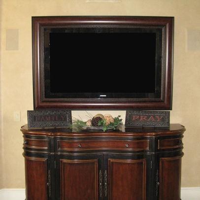 11 best Flat Screen TV Frames images on Pinterest   Tv frames, Home ...